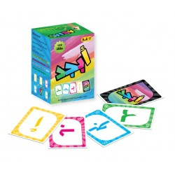 ABJAD: Arabic Alphabet Cards Game (169 Cards)